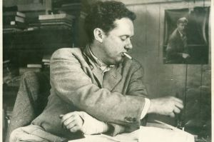 The great man himself, Mr Dylan Thomas